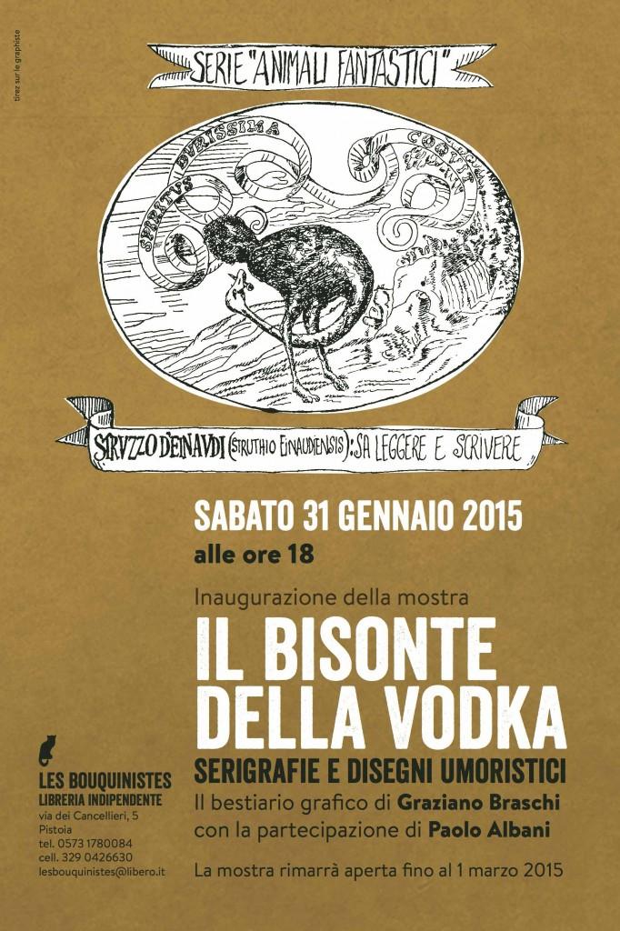 Il bisonte della vodka