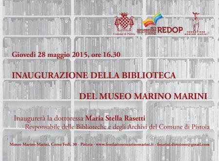 Riapre la biblioteca del museo Marino Marini