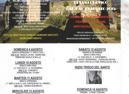 Festeggiamenti per San Lodovico a Serravalle