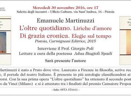 Le poesie di Martinuzzi in Sant'Andrea