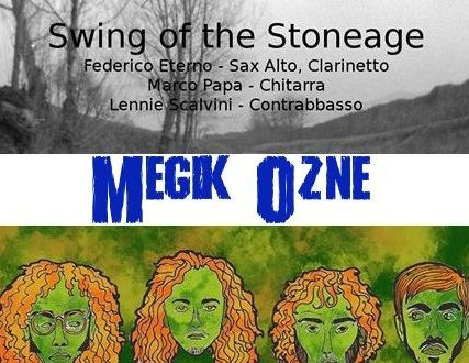 Swing of the stone age + Sax appeal al Megik Ozne