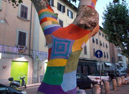 Gli alberi vestiti di Livorno