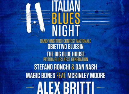 Notte di blues italiano + Alex Britti