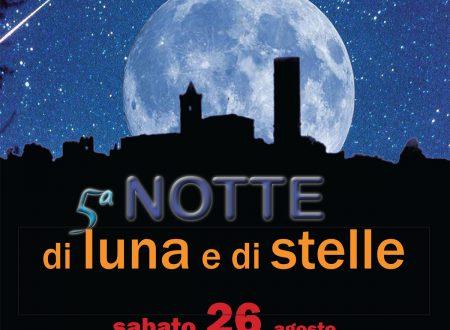 Notte di luna e di stelle a Serravalle