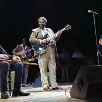 Jeff Healey. B.B. King, Edoardo Bennato