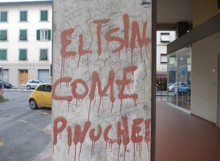 I graffiti di via Gobetti