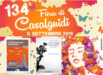 Simone Piazzesi presenta i suoi ultimi libri alla Fiera di Casalguidi