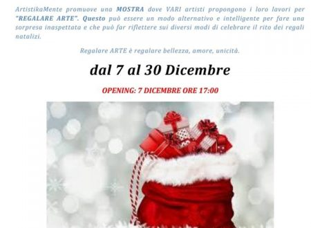 A Natale regala arte! (video + foto)